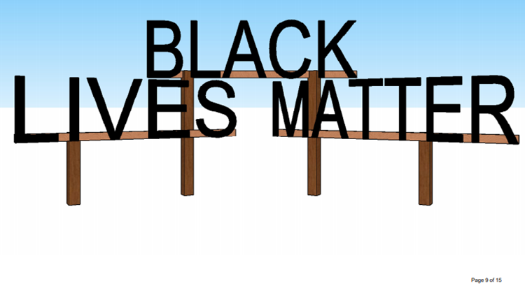 'Black Lives Matter' sign will find new home at McClatchy Park
