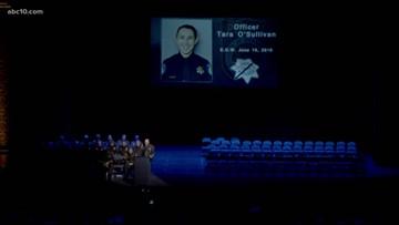 Police academy graduates honor slain Sacramento Police Officer Tara O'Sullivan