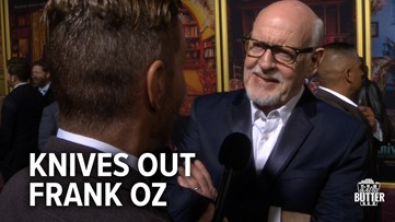 Knives Out: Frank Oz Interview at Los Angeles Premiere   Extra Butter