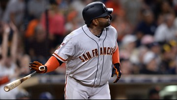 Sandoval homers in 11th to lift Giants to 2-1 win vs Padres
