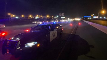 All lanes on Capital City Freeway reopened hours after vehicle was found with bullet holes, CHP confirms | UPDATE