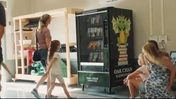 California's first book vending machine rewards kids for good behavior