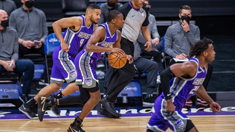 Sacramento Kings welcome frontline workers as first fans back to Golden 1 Center