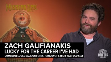 "Zach Galifianakis: ""How Lucky I Am"" 
