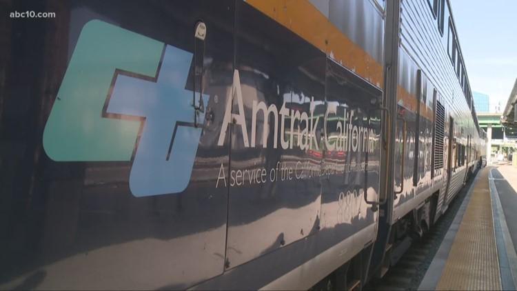 Amtrak's Capitol Corridor expect delays through Saturday