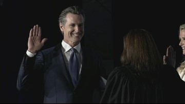 Raw: Gavin Newsom gets sworn in as California's 40th Governor
