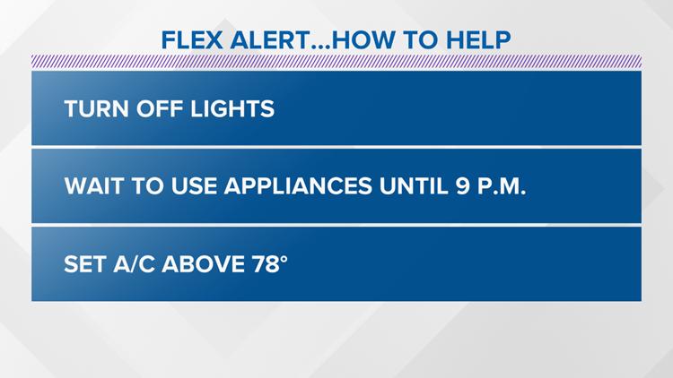 Flex Alert how to help