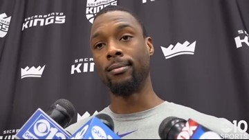 Harrison Barnes on Kings learning from demoralizing loss to Nets