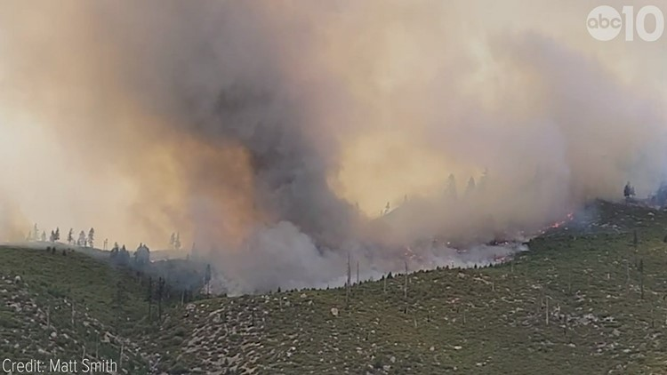 California Wildfires: Closer look at the Tamarack fire in Markleeville