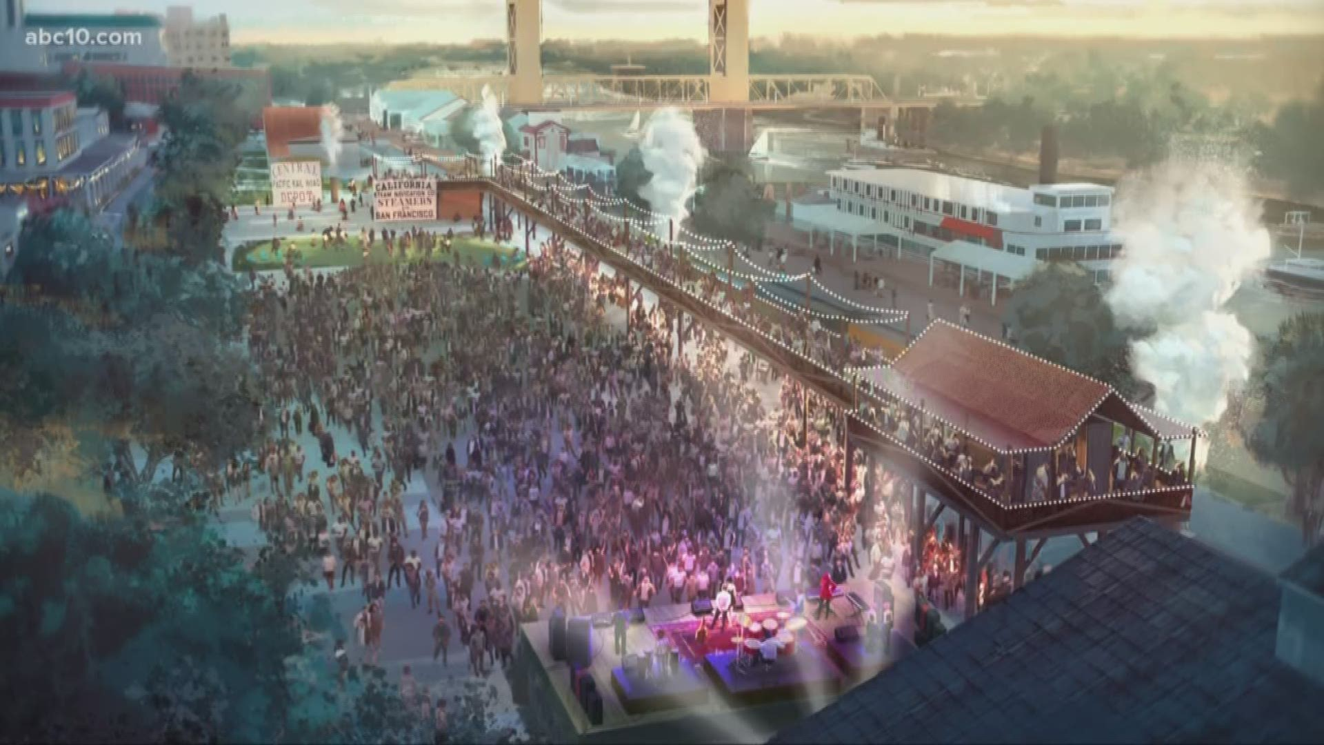 Old Sacramento Ca Halloween 2020 Sacramento approves $47 million Old Sacramento Waterfront project