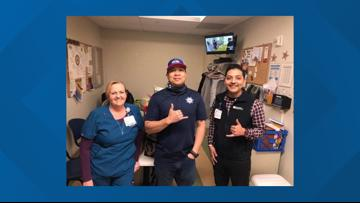 Solano County first responder families donate, deliver healthy food to healthcare workers