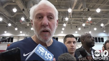 Gregg Popovich on the rise of Kings PG De'Aaron Fox at USA Basketball training camp