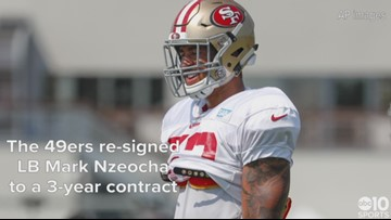 49ers re-sign LB Mark Nzeocha, release DE Cassius Marsh