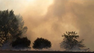 Warm weather and gusty winds bring elevated fire risk to start the week