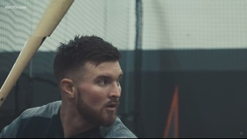 Former Seattle Mariners player Mike Marjama has a message for men struggling with eating disorders