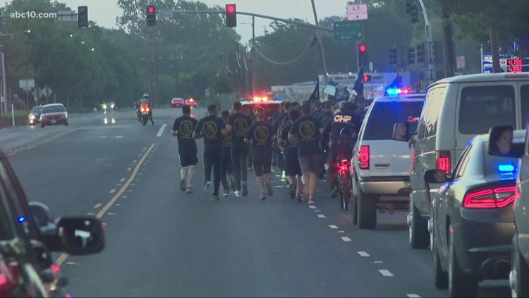 CHP cadets take part in annual 5 mile run