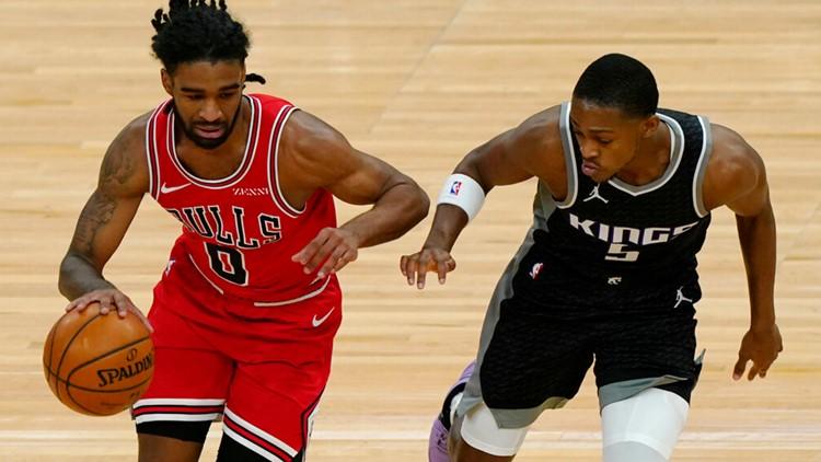 Zach LaVine scores 38 points, Bulls hold off Kings 122-114