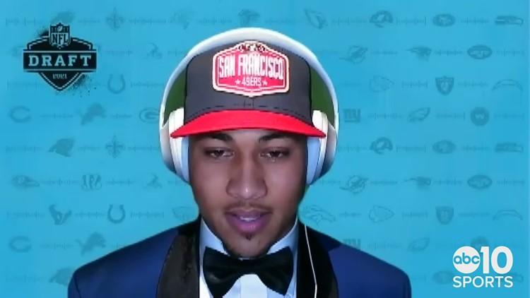San Francisco 49ers select North Dakota State QB Trey Lance with third overall pick | 2021 NFL Draft