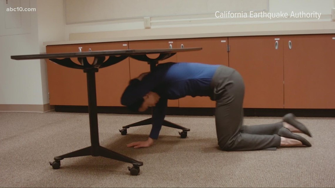 'Great California Shakeout' drill coming up this morning on Oct. 21th