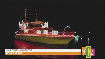 Delta Reflections Lighted Boat Parade in downtown Stockton