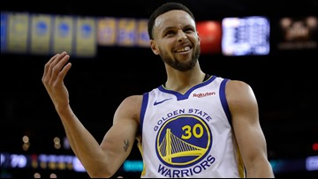 Stephen Curry scores 38, DeMarcus Cousins makes postseason debut as the Warriors beat the Clippers in Game 1