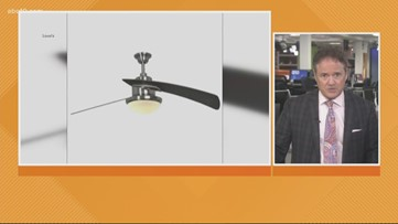 Business Headlines: 70,000 Lowe's ceiling fans recalled due to flying fan blades