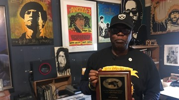 Extensive collection of Black Panther memorabilia located in Sacramento | Black History Month