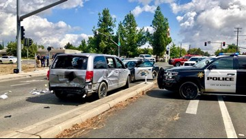 Suspect leads Roseville police on a chase to Yuba City
