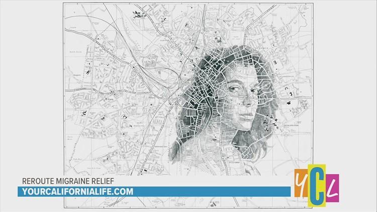 Portrait Artist Illustrates the Complexities of Migrane