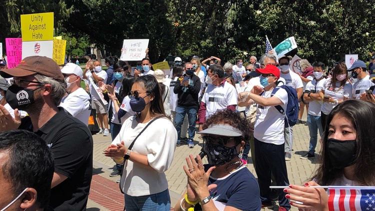 Hundreds gather at Unity Against Hate rally at California State Capitol