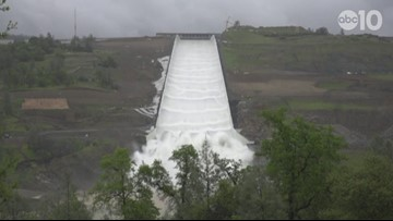 WATCH: Oroville Dam Spillway opened for first time in two years