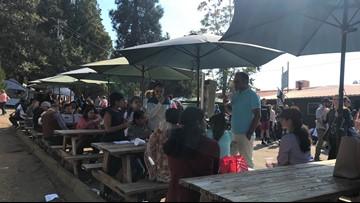 Apple Hill draws crowds despite a smoky Sierra