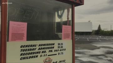 Sacramento drive-in movie theater reopens amid coronavirus pandemic