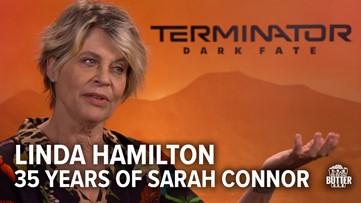 'Terminator: Dark Fate'   Linda Hamilton on 3 decades of Sarah Connor   Extra Butter interview