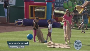 Mommy & Me Event at Raley Field!