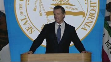 Raw: Governor Gavin Newsom inauguration | Full remarks