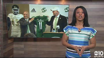 Sac State's new head coach Troy Taylor shares his vision for the Hornets
