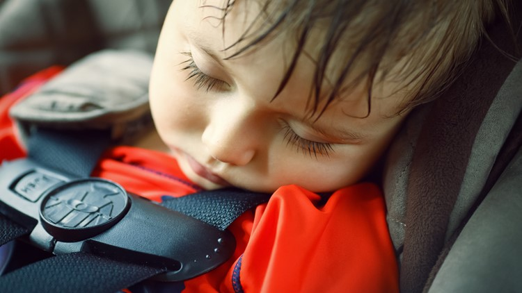 California law allows you to break a window on a hot car to save a child's life