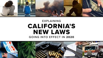 Explaining California's new laws that go into effect in 2020