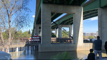 CHP: Tow truck recovery to continue Sunday on Sacramento River