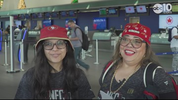 'This is our time' | San Francisco 49ers fans journey to the Super Bowl
