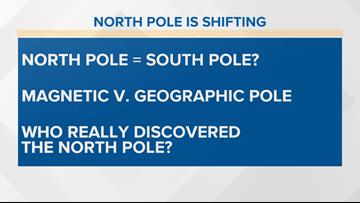Geek Lab: The North Pole is shifting toward Siberia