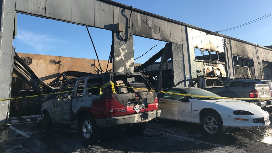 Large fire near old Campbell Soup plant in south Sacramento wipes out multiple immigrant-owned businesses