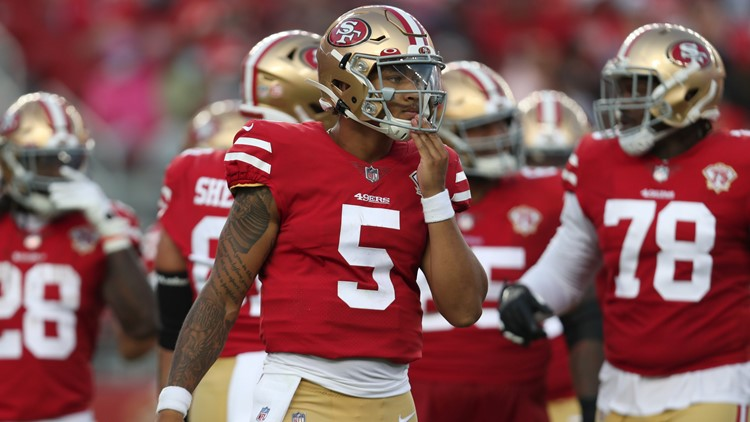 Lance throws long TD pass before 49ers lose to Chiefs 19-16