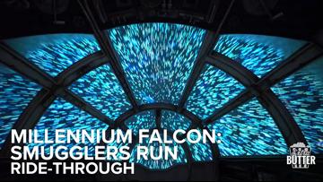 'Millennium Falcon: Smugglers Run' ride-through   Star Wars Galaxy's Edge at Disneyland