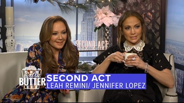 "Jennifer Lopez & Leah Remini | ""Second Act"" Interview 