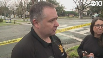 RAW: Davis Police Department provides update on shooting death of Officer Corona