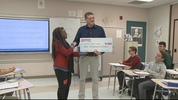 Fynn Carroll: January's Teacher of the Month