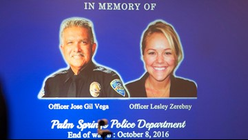 Jurors cry as prosecutor describes fatal attack on Palm Springs officers