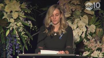 Raw: Amy Stasyuk remembers her husband, Deputy Mark Stasyuk